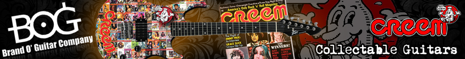 Creem Magazine collectable guitars